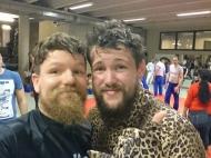 met Nickolas Dalby, UFC Fighter, BJJ Globetrotters Summercamp 2016 Leuven